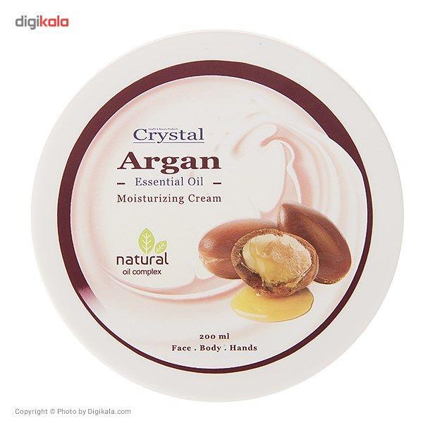 کرم مرطوب کننده کریستال مدل Argan حجم 200 میلی لیتر
