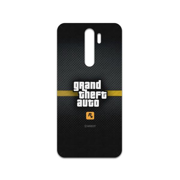 برچسب پوششی ماهوت مدل GTA-Game مناسب برای گوشی موبایل شیائومی Redmi Note 8 Pro