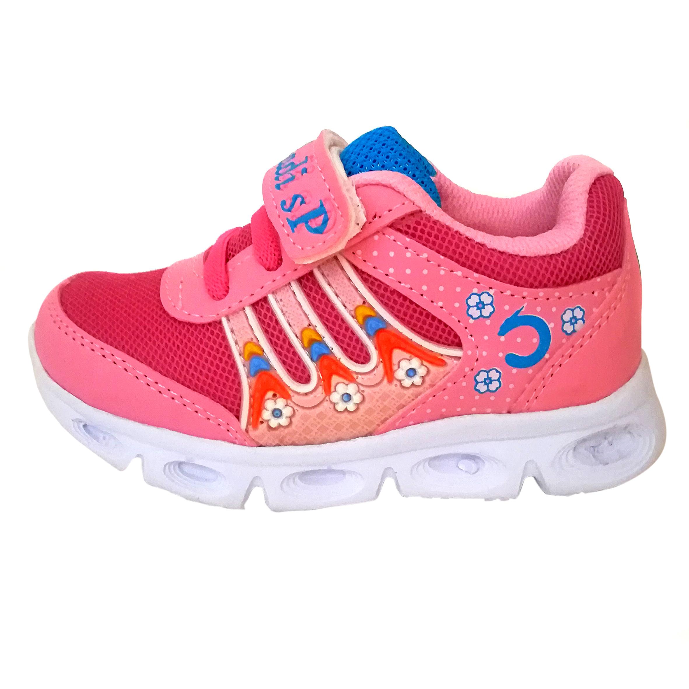 کفش مخصوص پیاده روی دخترانه مدل شادی  کد 01org