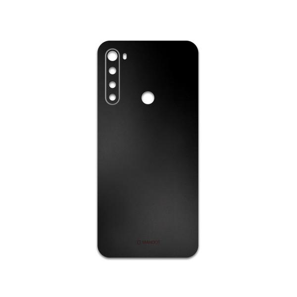 برچسب پوششی ماهوت مدل Black-Matte مناسب برای گوشی موبایل شیائومی Redmi Note 8