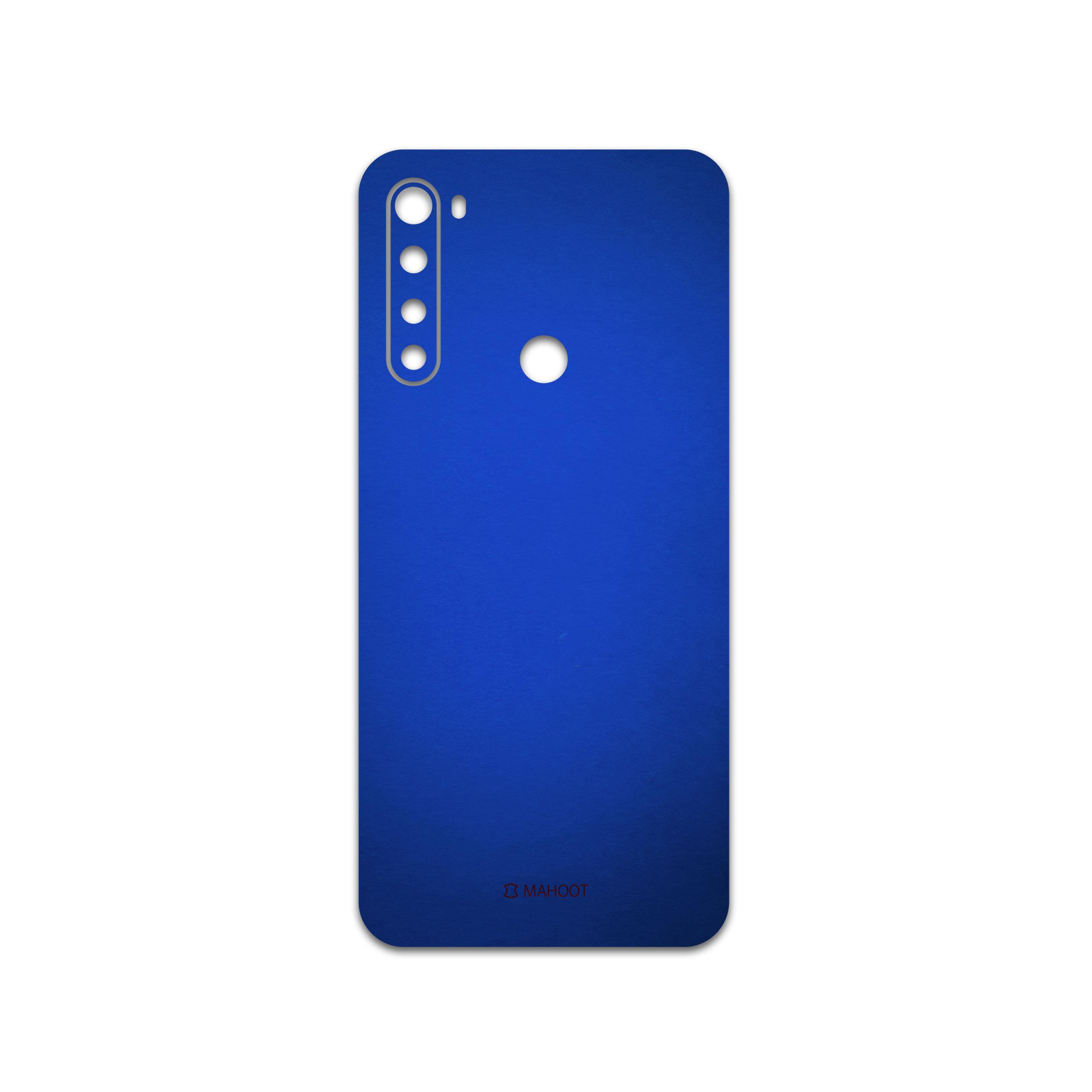 برچسب پوششی ماهوت مدل Metallic-Blue مناسب برای گوشی موبایل شیائومی Redmi Note 8