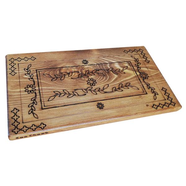 تخته سرو چوبی کن چوب مدل آغاز
