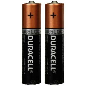 باتری نیم قلمی دوراسل مدل LR03 بسته 2 عددی