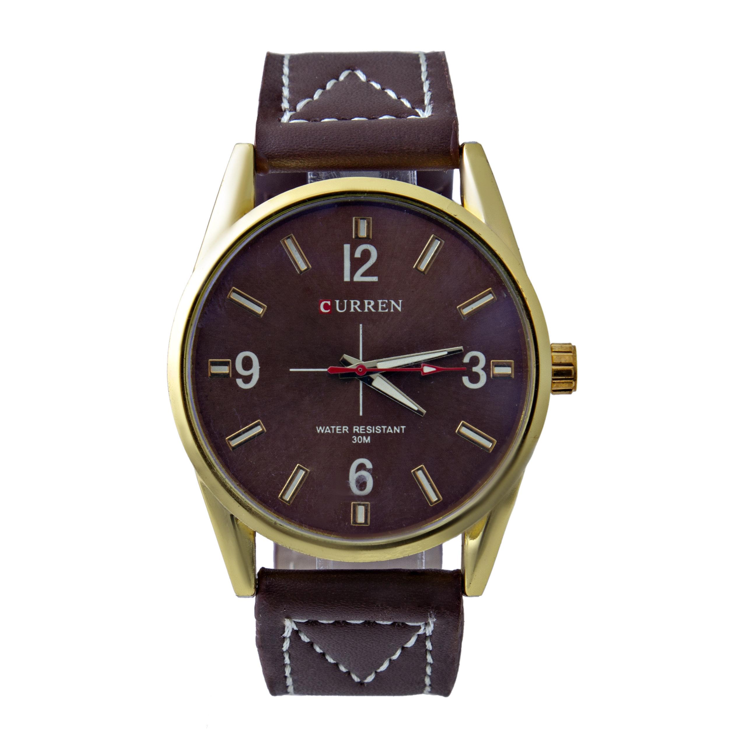 قیمت                        ساعت مچی عقربه ای مردانه کد WHM_129