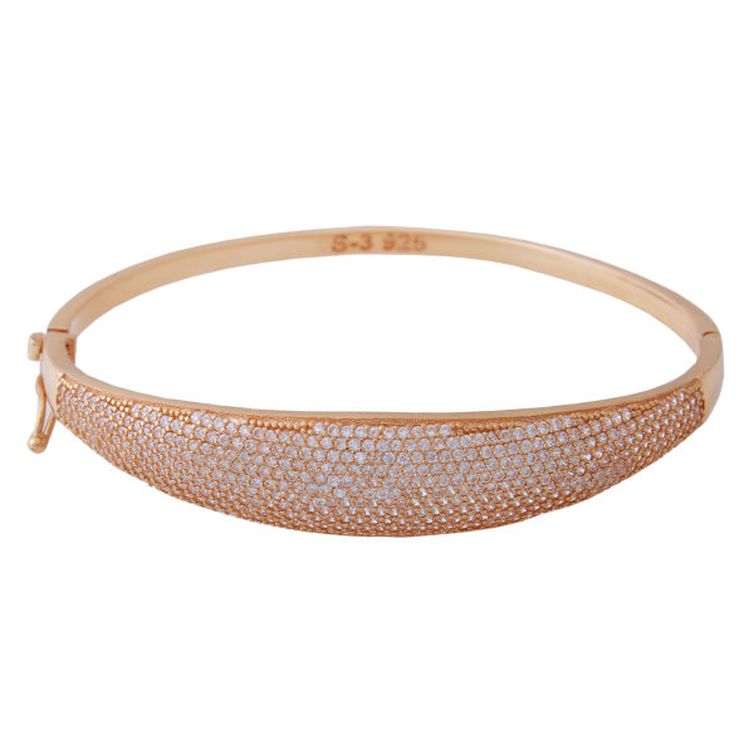 دستبند نقره زنانه بازرگانی میلادی کد DP_255