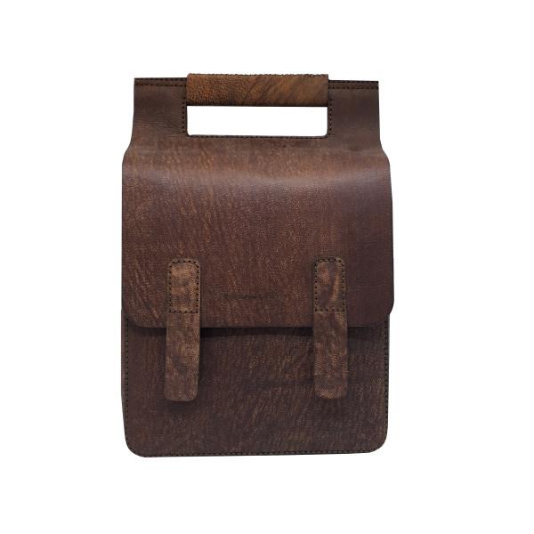 کیف دوشی چرم بارثاوا کد 1201