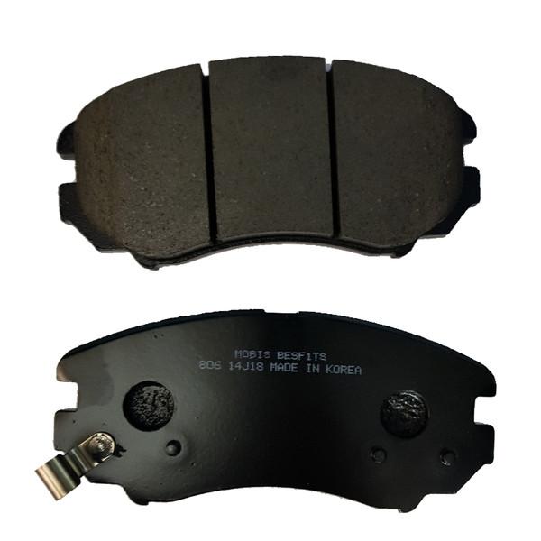 لنت ترمز جلو بسفیتس مدل 581012EA21 مناسب برای آزارا