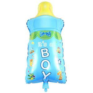 بادکنک فویلی طرح شیشه شیر پسر کد01