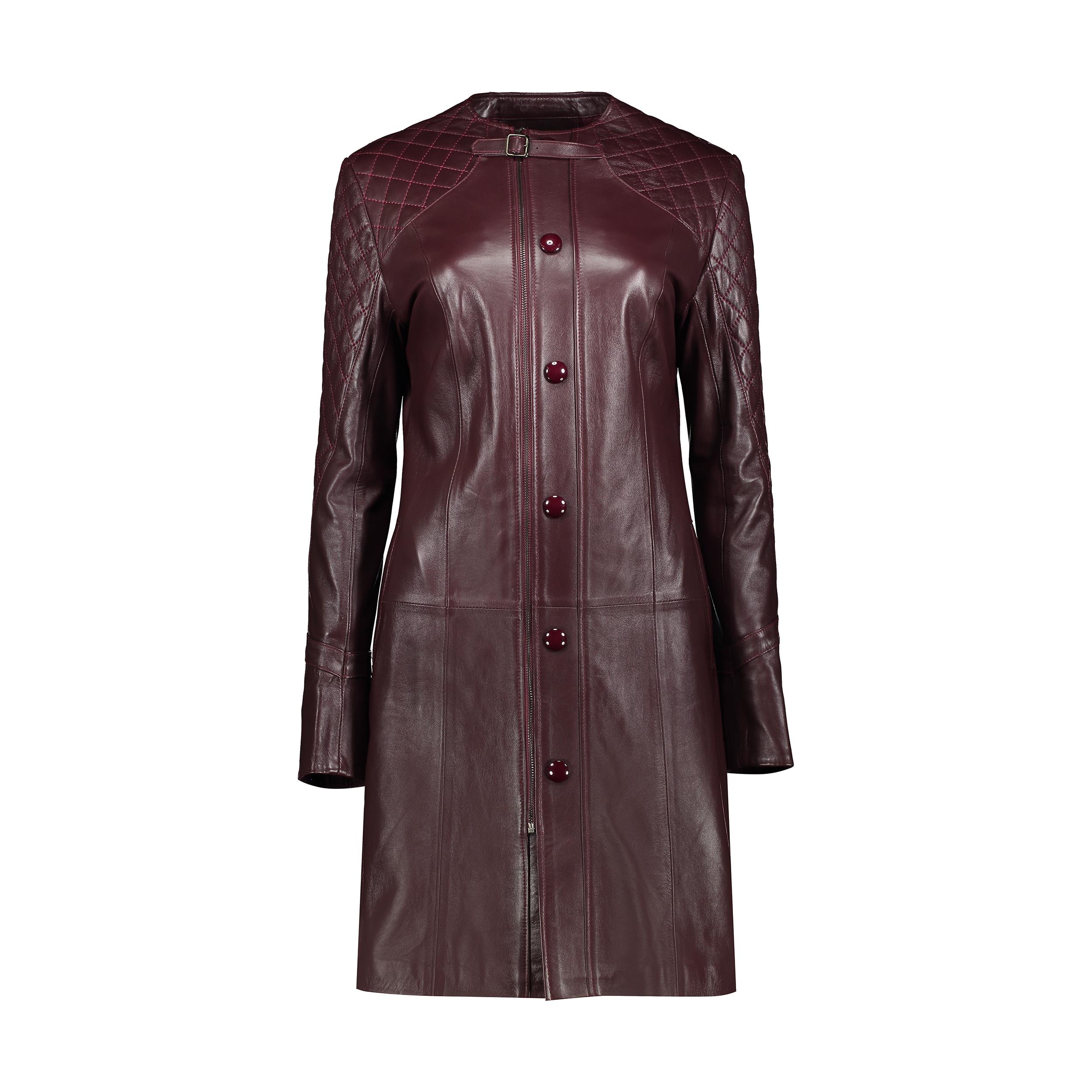 کت چرم زنانه شیفر مدل 2703S-07