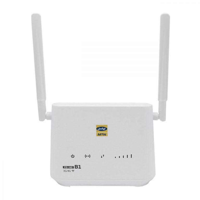مودم 3G/4G ایرانسل مدل i40 b1 به همراه 80گیگ اینترنت 6 ماهه
