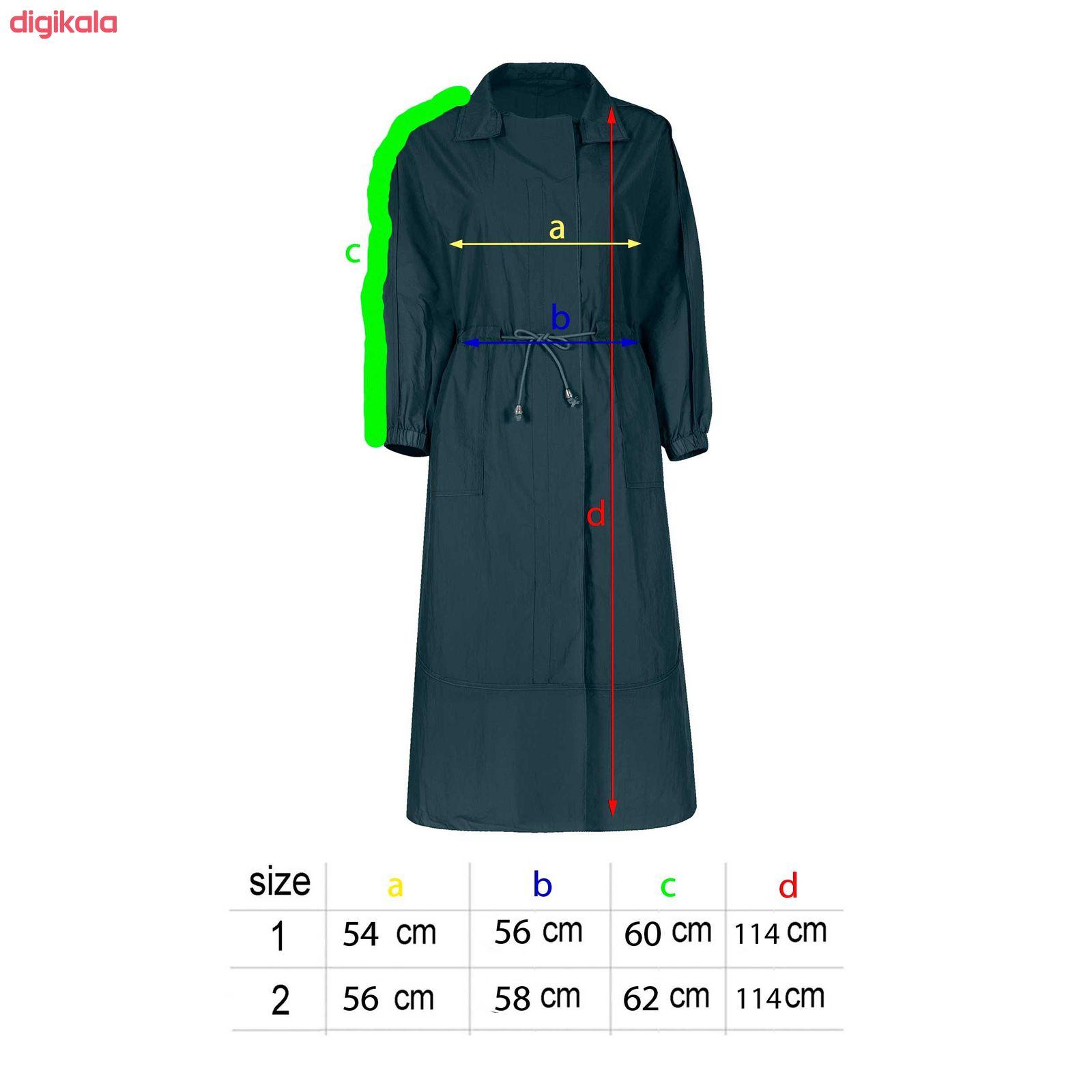خرید اینترنتی با تخفیف ویژه بارانی زنانه مدل Taak-104
