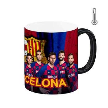 ماگ حرارتی طرح بارسلونا کد 135