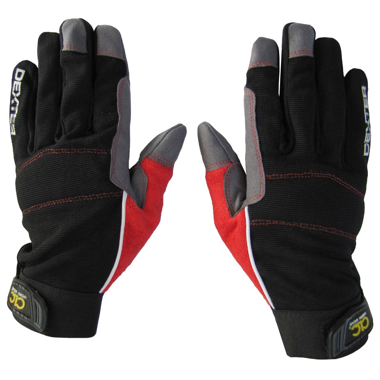دستکش موتورسواری مدل MCX-BLK