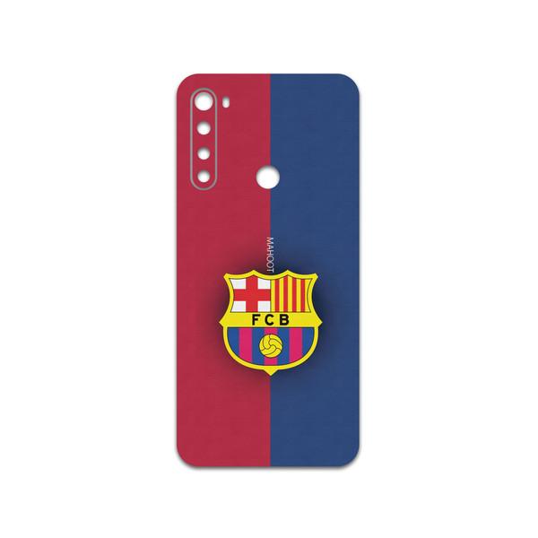 برچسب پوششی ماهوت مدل BARCELONA-FC مناسب برای گوشی موبایل شیائومی Redmi Note 8