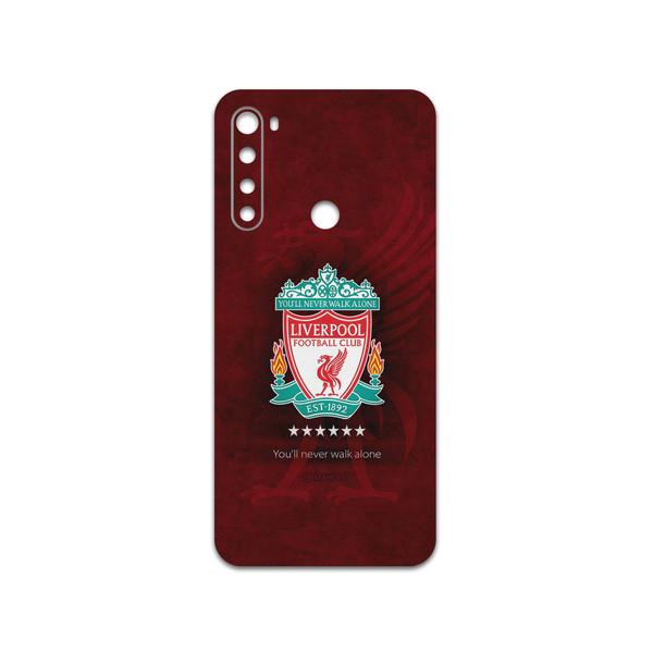 برچسب پوششی ماهوت مدل Liverpool-FC مناسب برای گوشی موبایل شیائومی Redmi Note 8