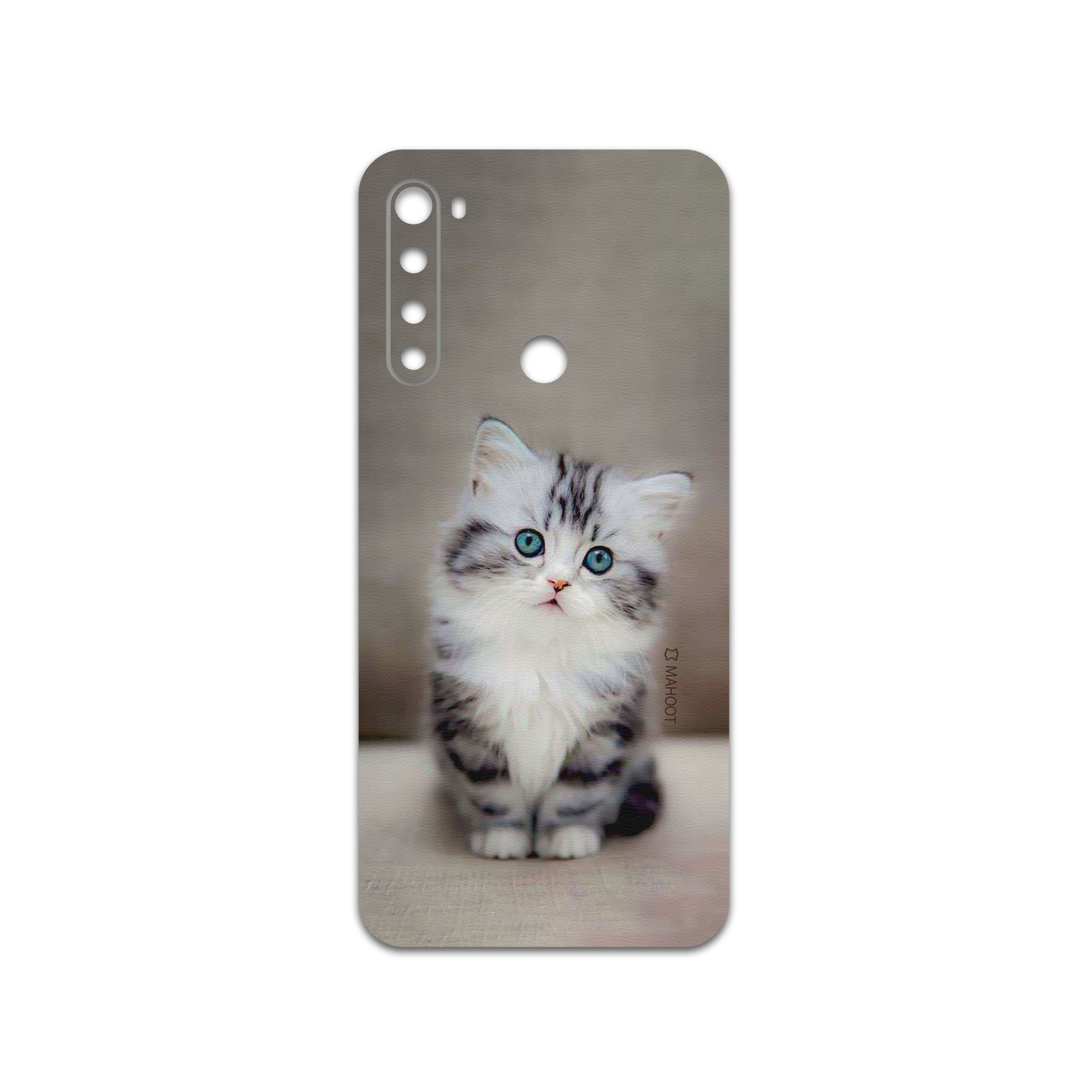 برچسب پوششی ماهوت مدل Cat-2 مناسب برای گوشی موبایل شیائومی Redmi Note 8