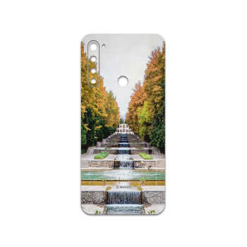 برچسب پوششی ماهوت مدل SHAHZADEH-Garden مناسب برای گوشی موبایل شیائومی Redmi Note 8