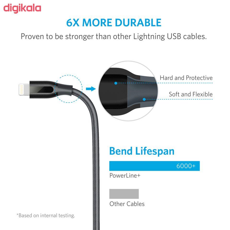 کابل تبدیل USB به لایتنینگ انکر مدل A8122 PowerLine Plus طول 1.8 متر main 1 7