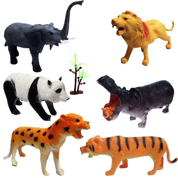 فیگور حیوانات مدل ANNIMAL SERIES مجموعه 7 عددی