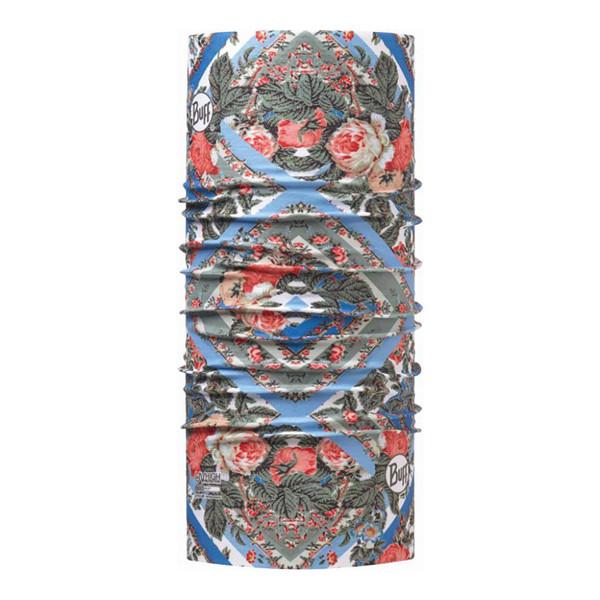 دستمال سر و گردن باف مدل  STRIP ROSES MULTI 113629.555.10