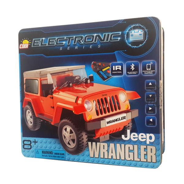 ساختنی کوبی مدل ماشین کنترلی جیپ رانگلر کد 21920