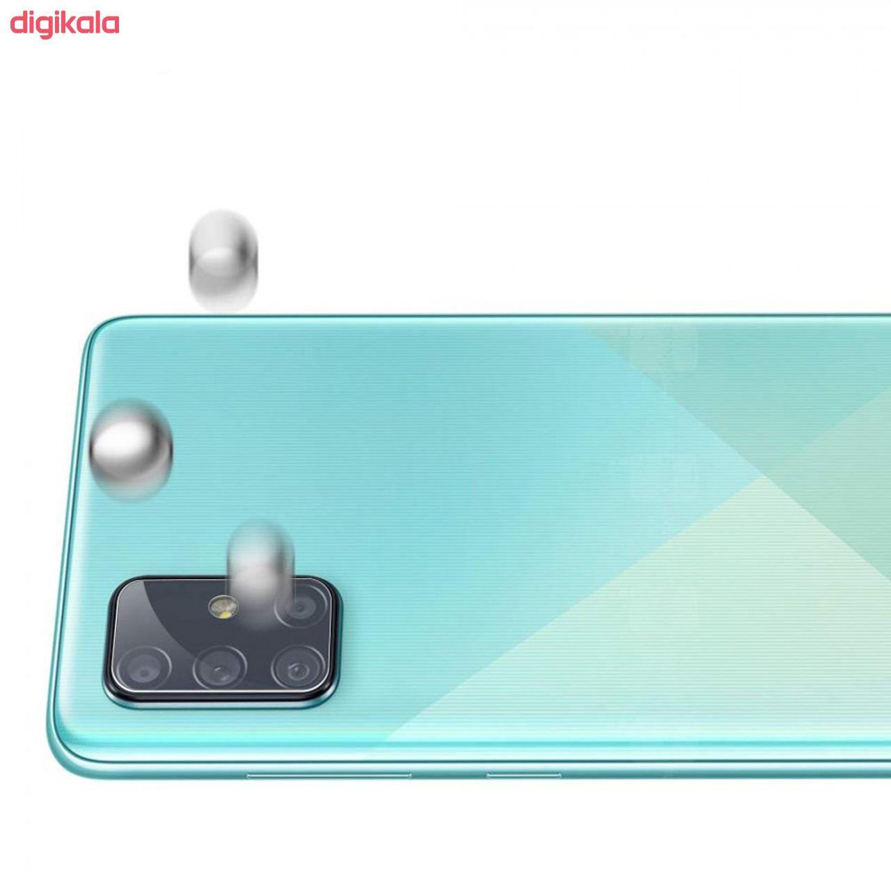 محافظ لنز دوربین سیحان مدل GLP مناسب برای گوشی موبایل سامسونگ Galaxy A71 main 1 1