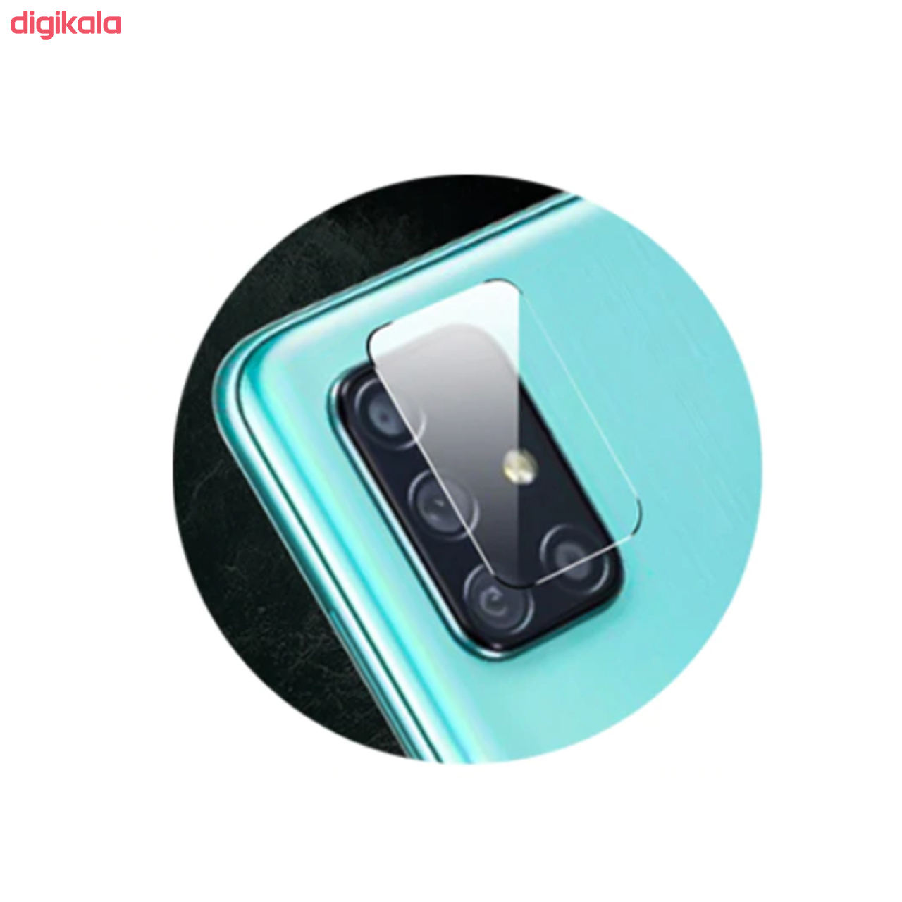 محافظ لنز دوربین سیحان مدل GLP مناسب برای گوشی موبایل سامسونگ Galaxy A71 main 1 2