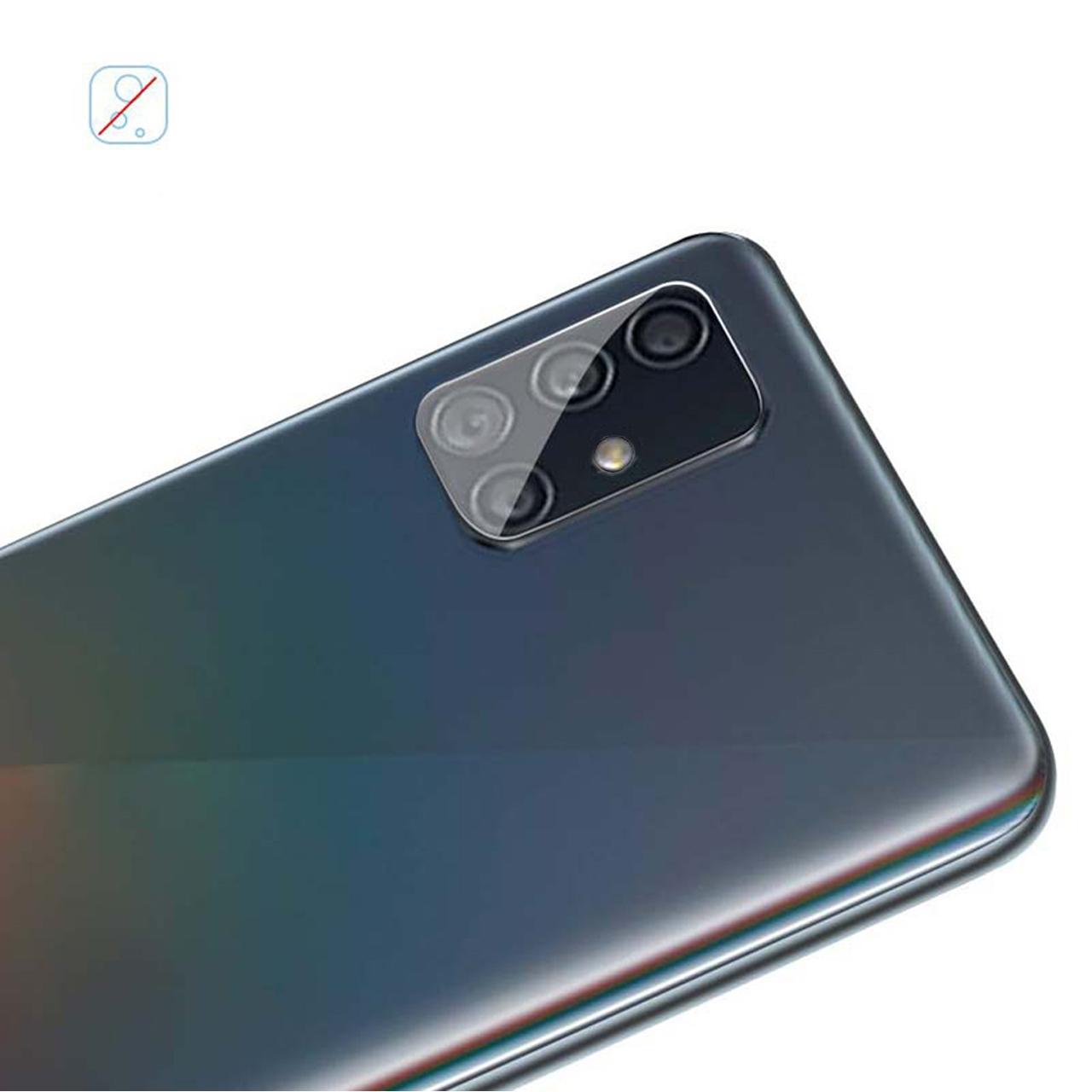 محافظ لنز دوربین سیحان مدل GLP مناسب برای گوشی موبایل سامسونگ Galaxy A71 main 1 6