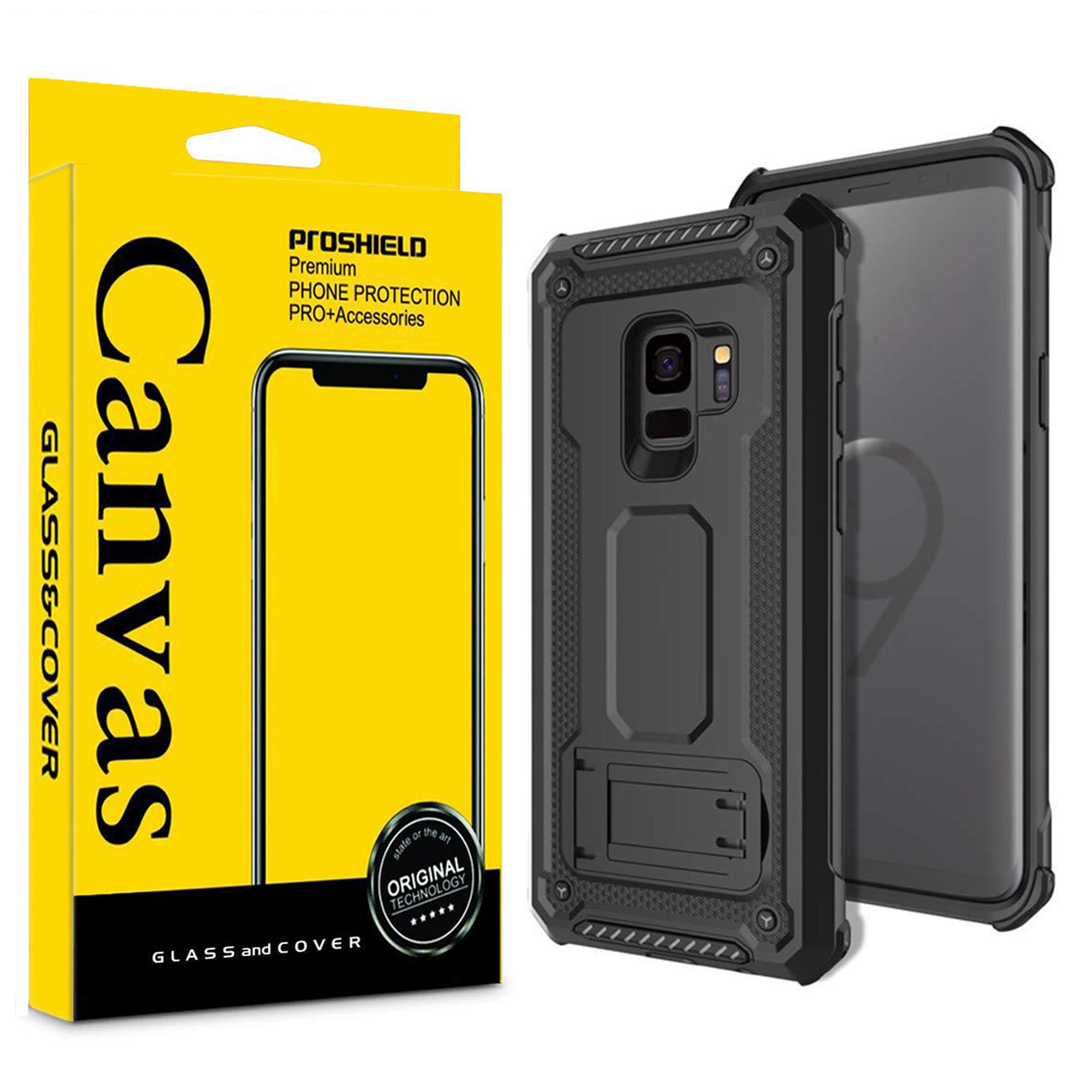 کاور کانواس مدل DEFEN-02 مناسب برای گوشی موبایل سامسونگ Galaxy S9
