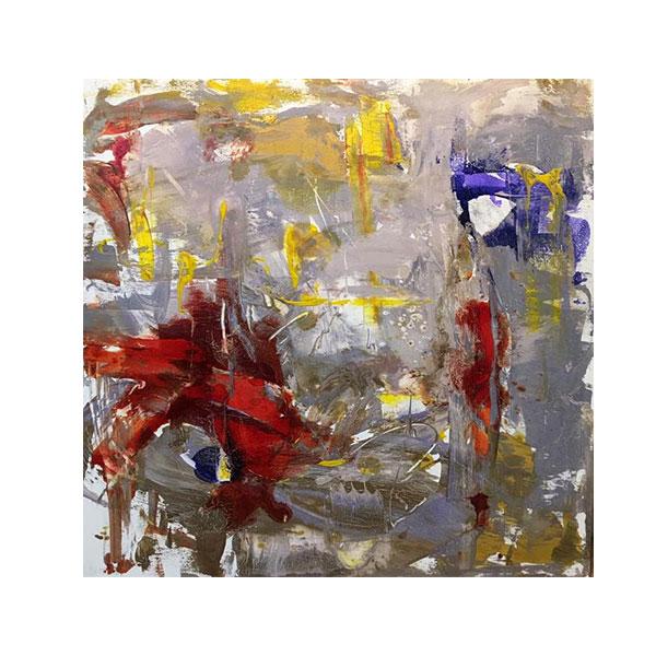 خرید                      تابلو نقاشی رنگ روغن مدل آبستره کد ARP18