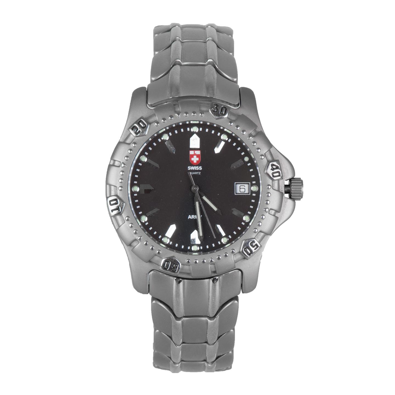 کد تخفیف                                      ساعت مچی عقربه ای مردانه سوئیس آرمی مدل 1275TT