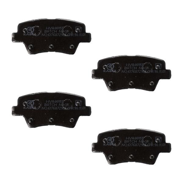 لنت ترمز عقب کادیا مدل IR-SD206 مناسب برای پژو 206 صندوقدار