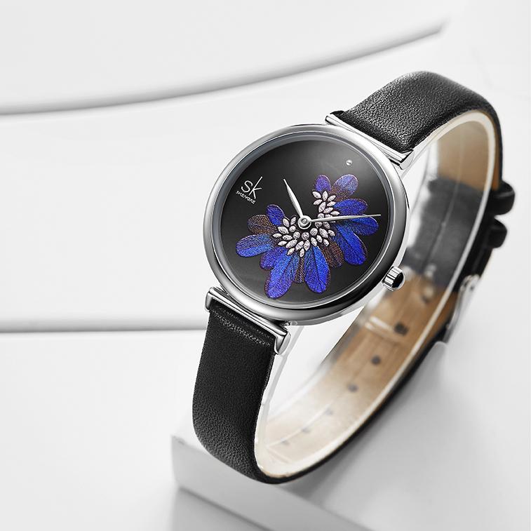 ساعت مچی عقربه ای زنانه اس کا مدل K0123L BLC              ارزان
