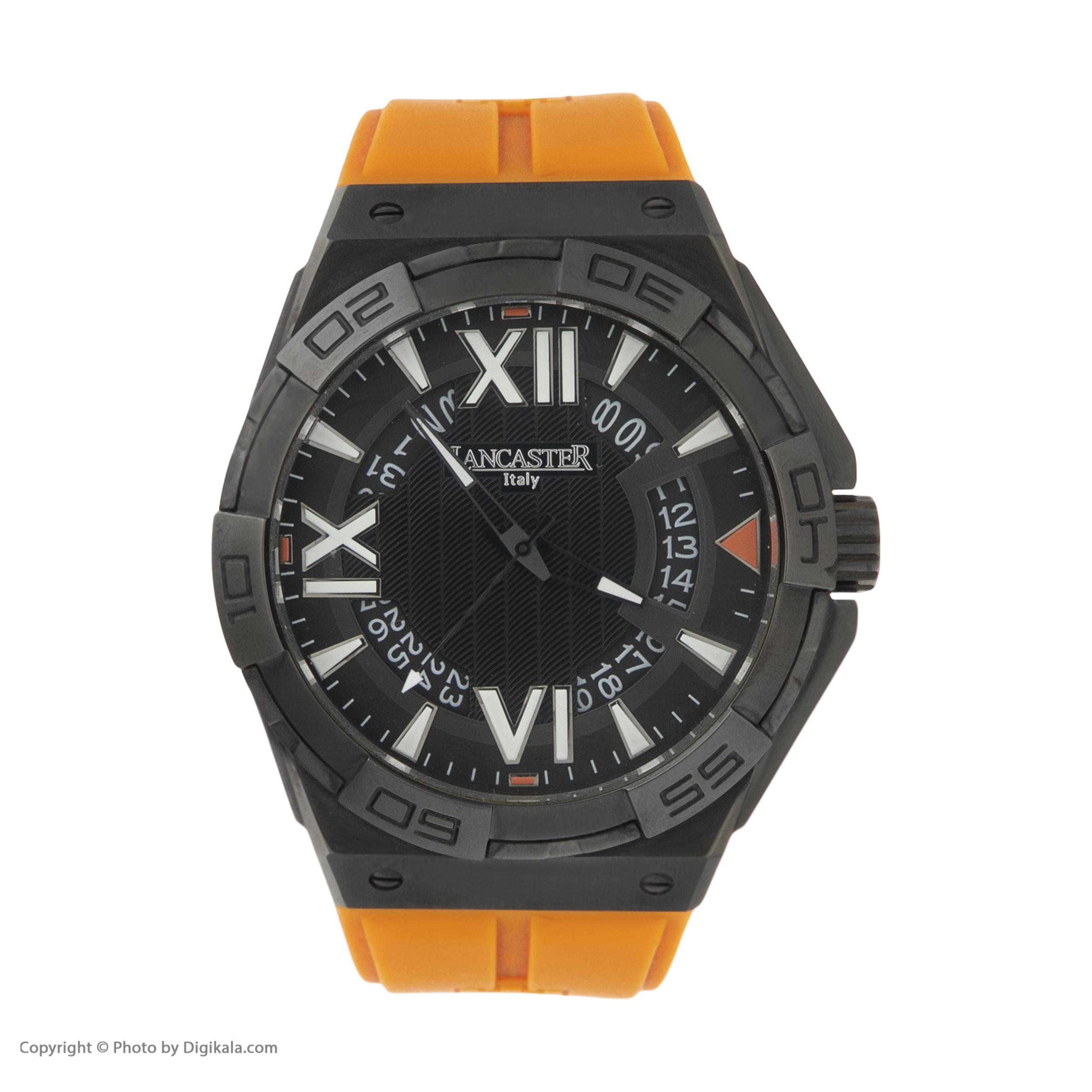ساعت مچی عقربه ای مردانه لنکستر مدل 622BKNRAR کد 24
