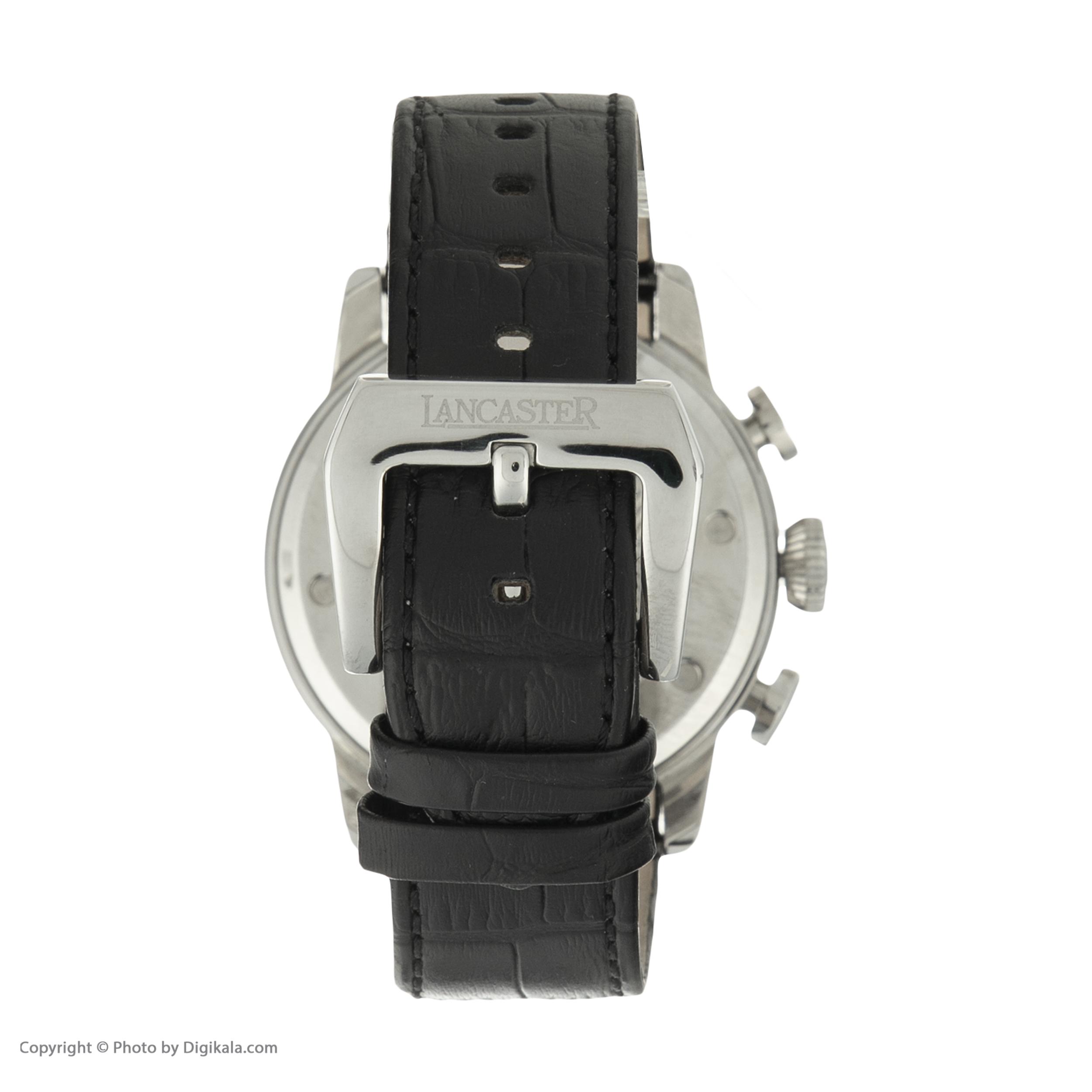 ساعت مچی عقربه ای مردانه لنکستر مدل 0360NR کد 52