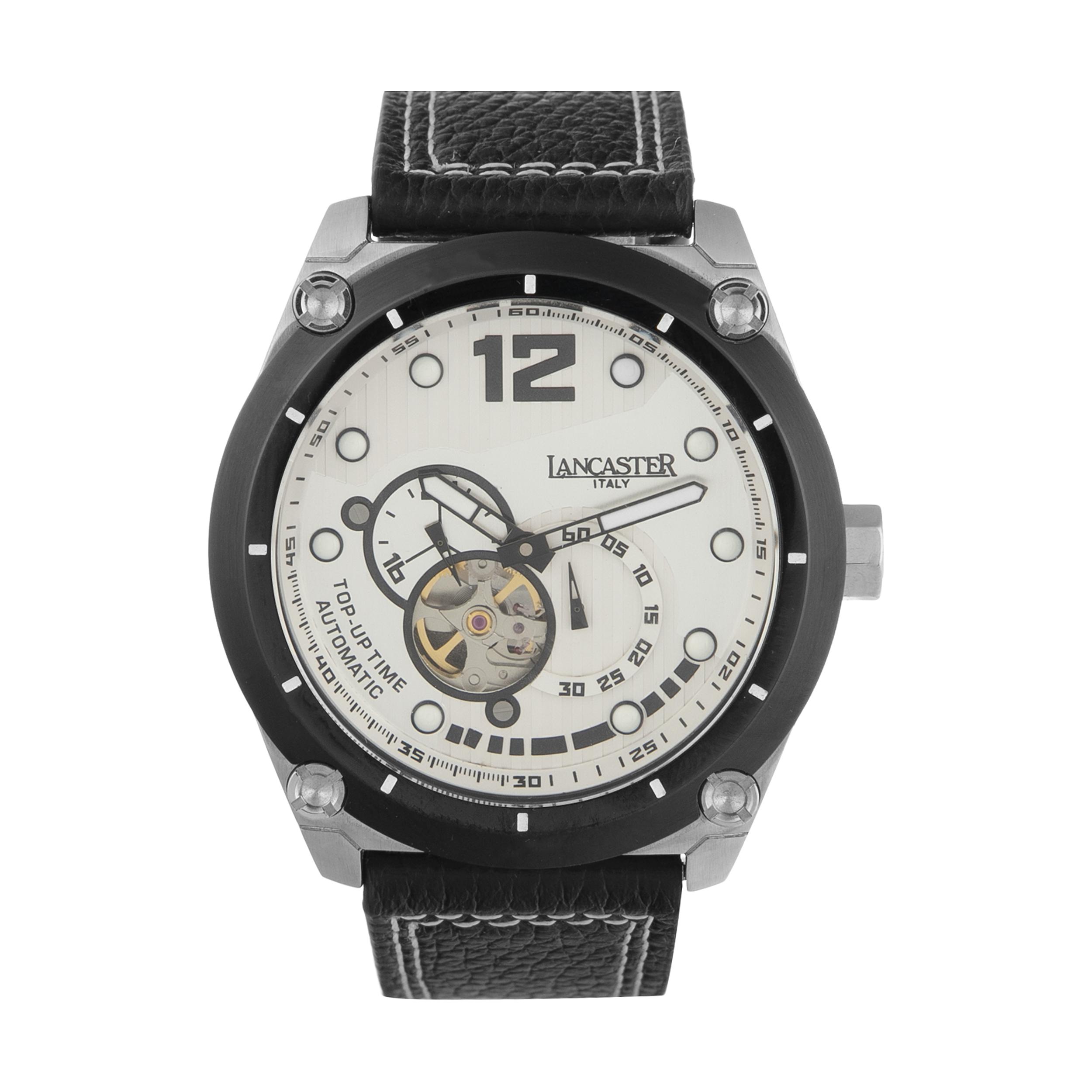 ساعت مچی عقربه ای مردانه لنکستر مدل 383LBN کد 106