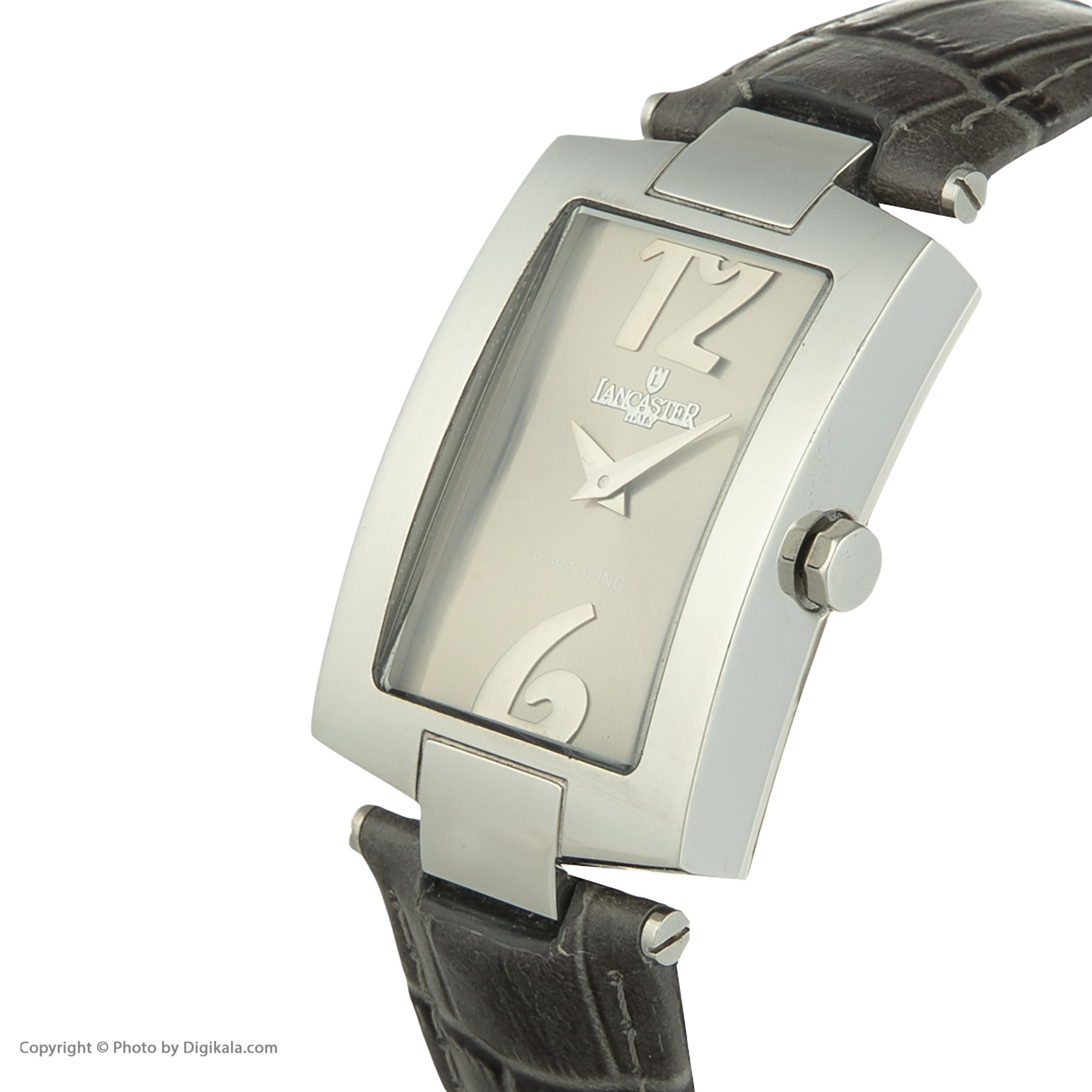 ساعت مچی عقربه ای مردانه لنکستر مدل 506GUNGN کد 77