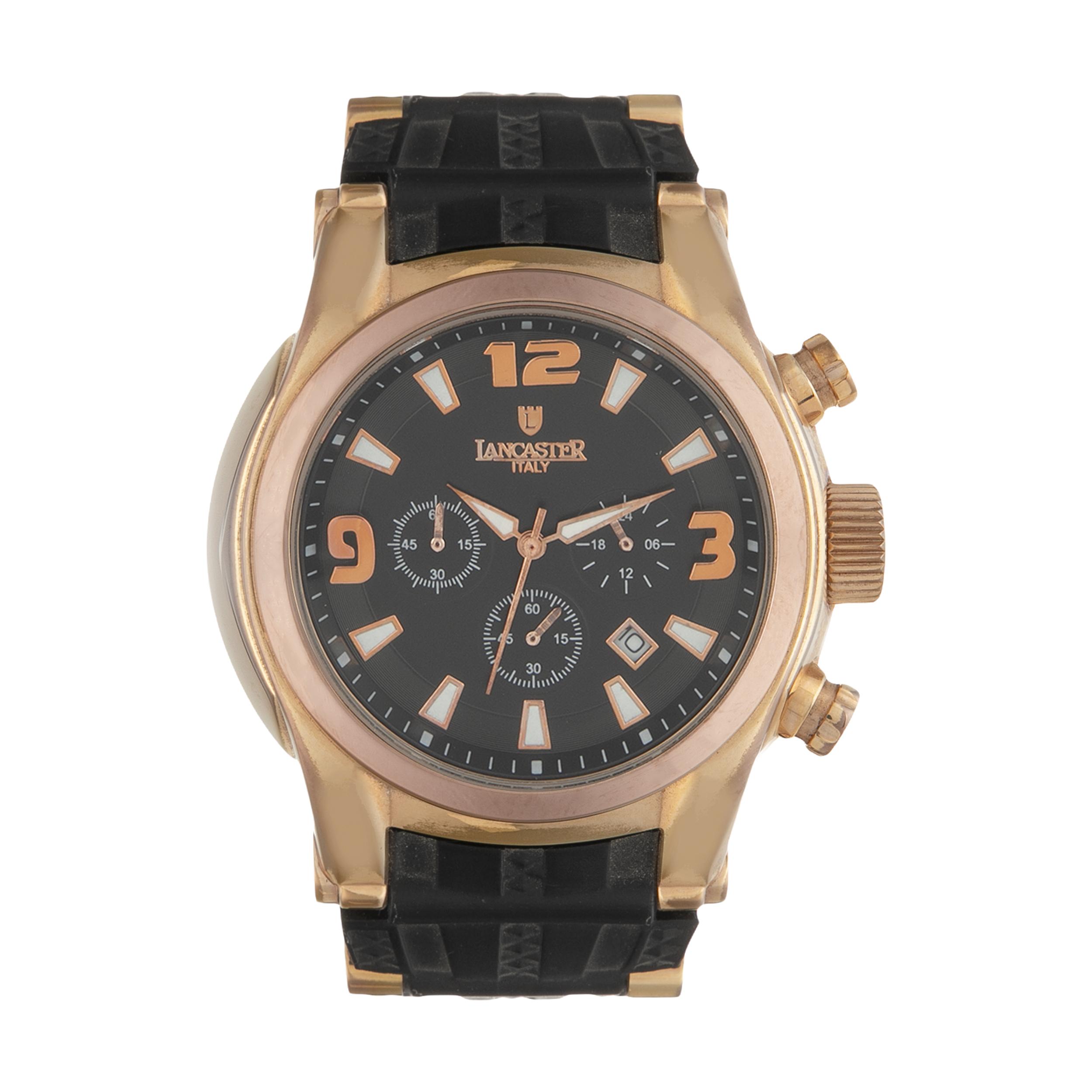 ساعت مچی عقربه ای مردانه لنکستر مدل 548RGNRNR کد 22