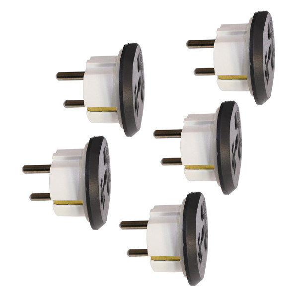 مبدل برق بهداد الکتریک مدل BE-220 بسته 5 عددی
