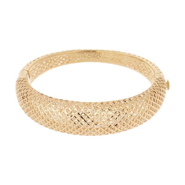 دستبند طلا 18 عیار زنانه مدل G651