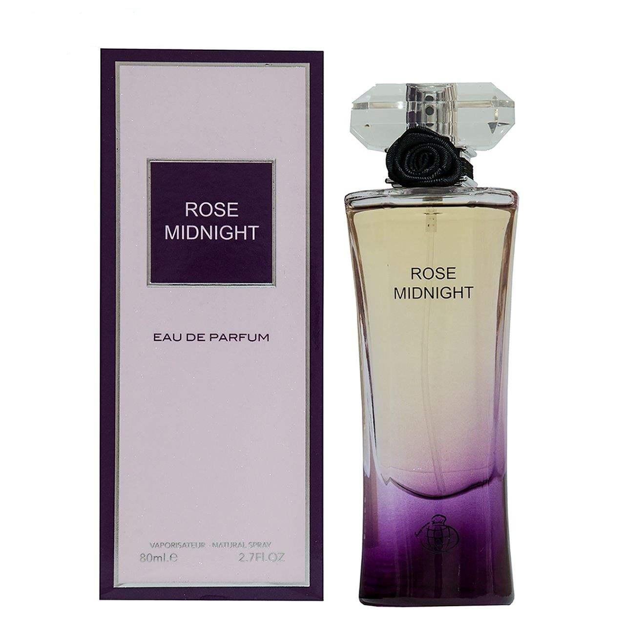 خرید اینترنتی                     ادو پرفیوم زنانه فراگرنس ورد مدل ROSE MIDNIGHT حجم 80 میلی لیتر              با قیمت مناسب