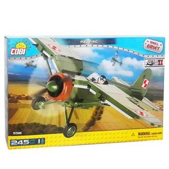 ساختنی کوبی مدل هواپیمای جنگنده PZL P.11C کد 5516