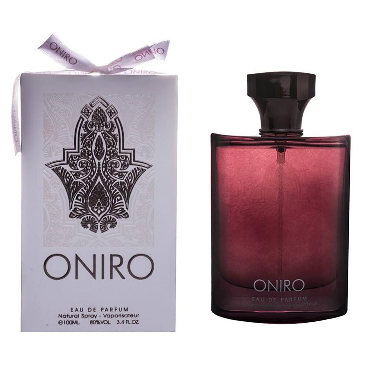 خرید اینترنتی ادو پرفیوم مردانه فراگرنس ورد مدل ONIRO حجم 100 میلی لیتر با قیمت مناسب