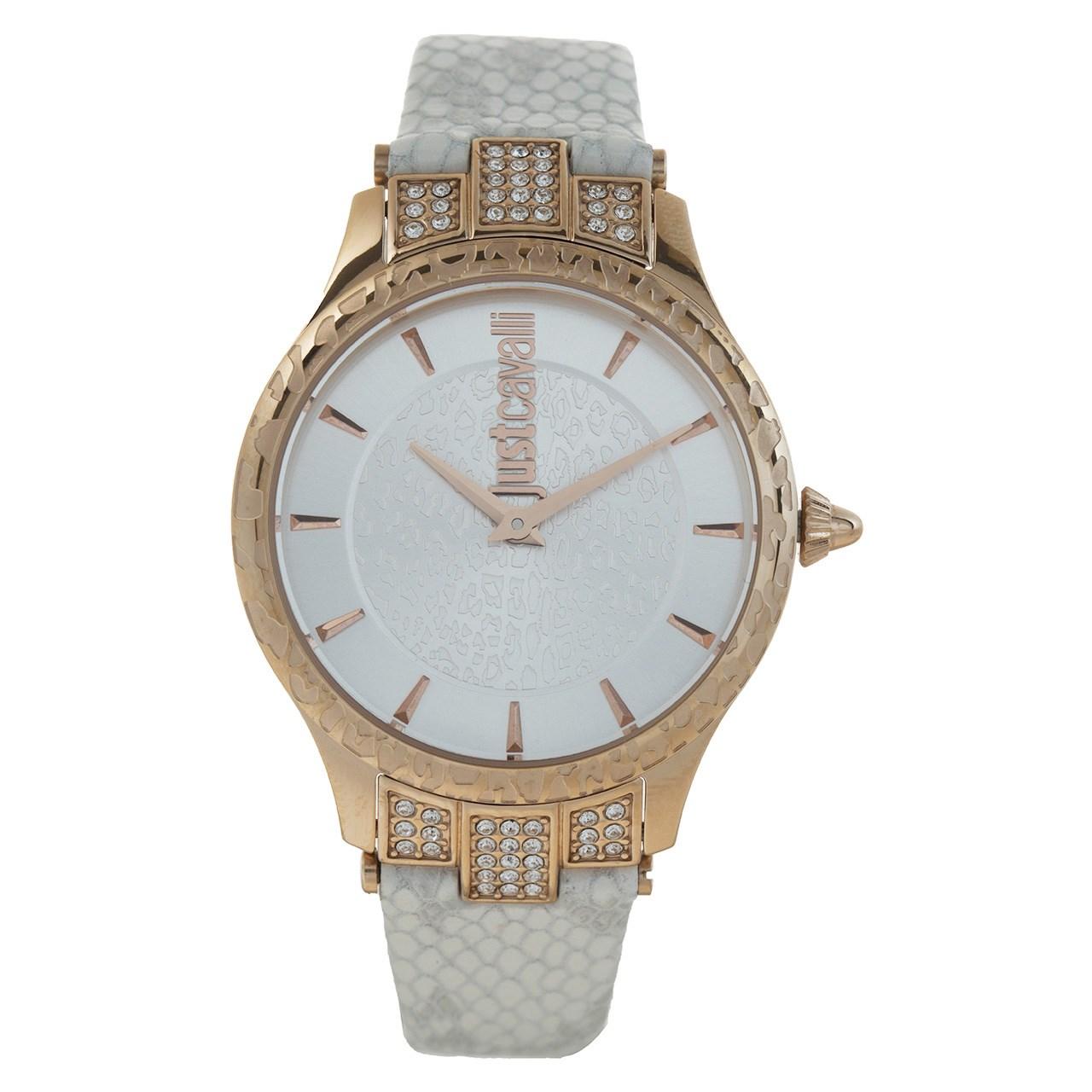 ساعت مچی عقربه ای زنانه جاست کاوالی مدل JC1L004L0045 14
