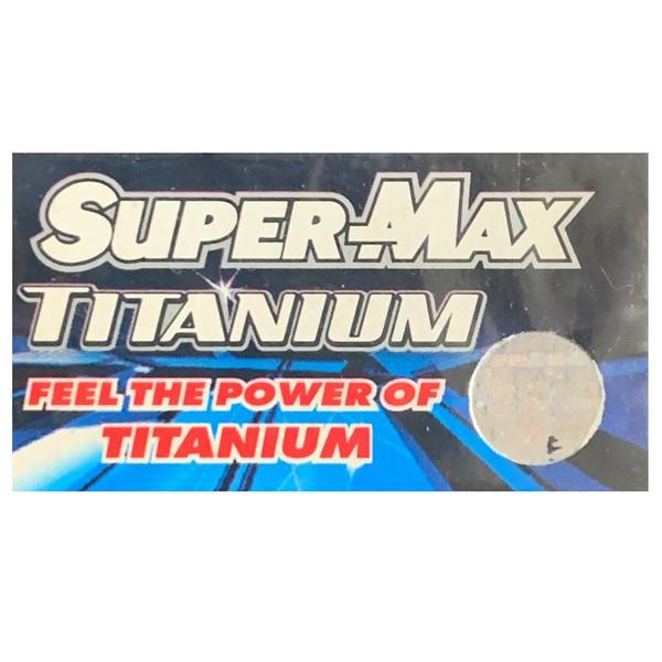 تیغ یدک سوپرمکس مدل TITANIUM مجموعه 4 عددی