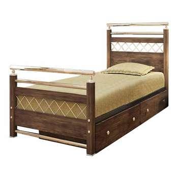 تخت خواب یک نفره کد MA01 سایز 90x200 سانتیمتر