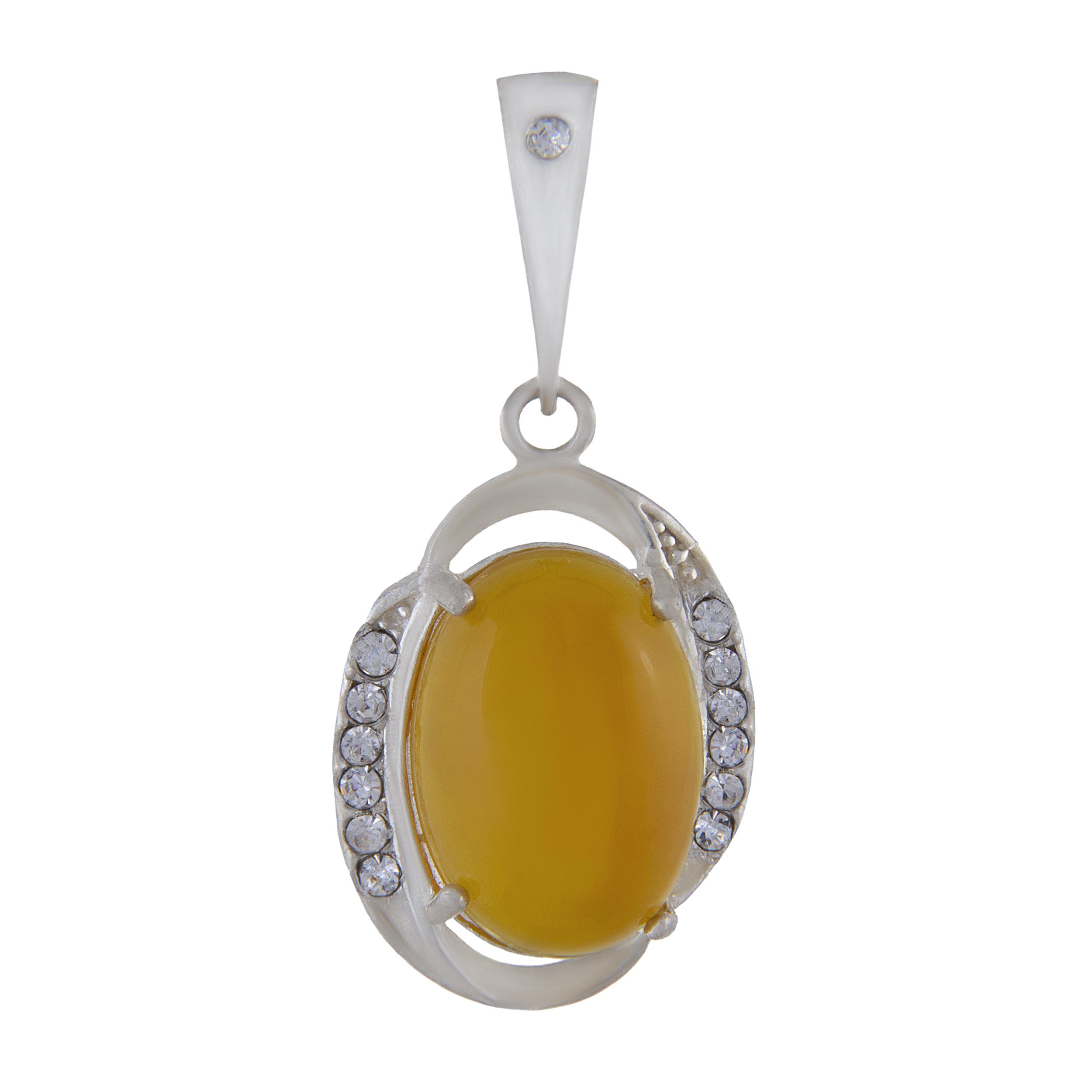 آویز گردنبند نقره زنانه بازرگانی میلادی کد PK_002