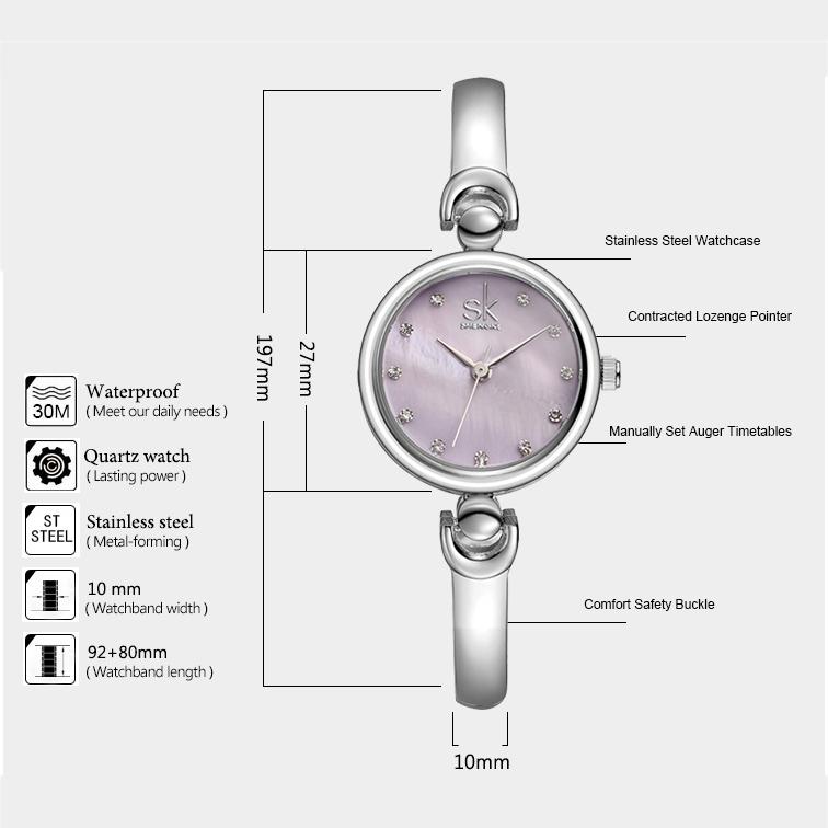ساعت  زنانه اس کا مدل K0013L SP