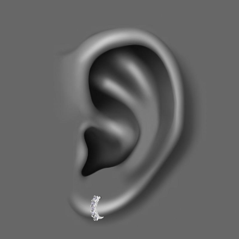 پیرسینگ گوش زنانه اقلیمه کد HS73
