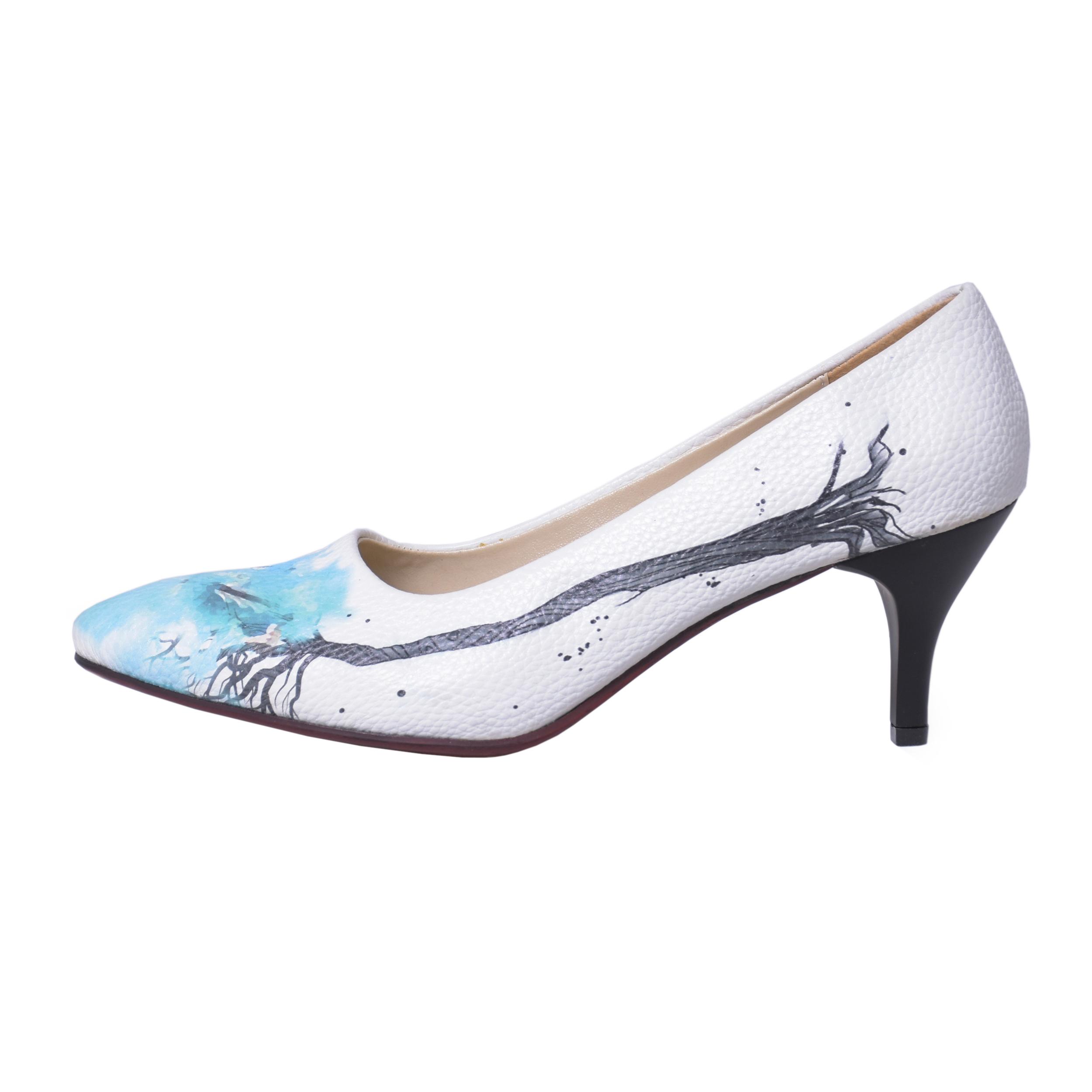 کفش نه جاویا طرح پاییز کد 003